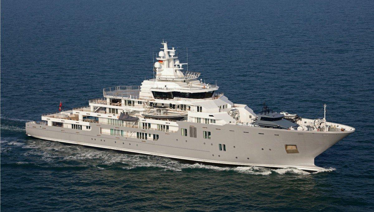 Explorer Yacht Ulysses Is Up for Sale