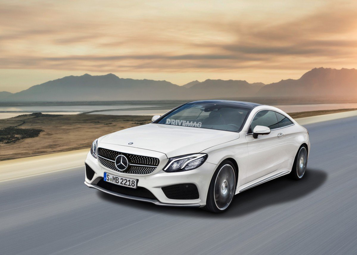 Surprise the 2018 mercedes benz e class coup looks like for Mercedes benz e320 coupe
