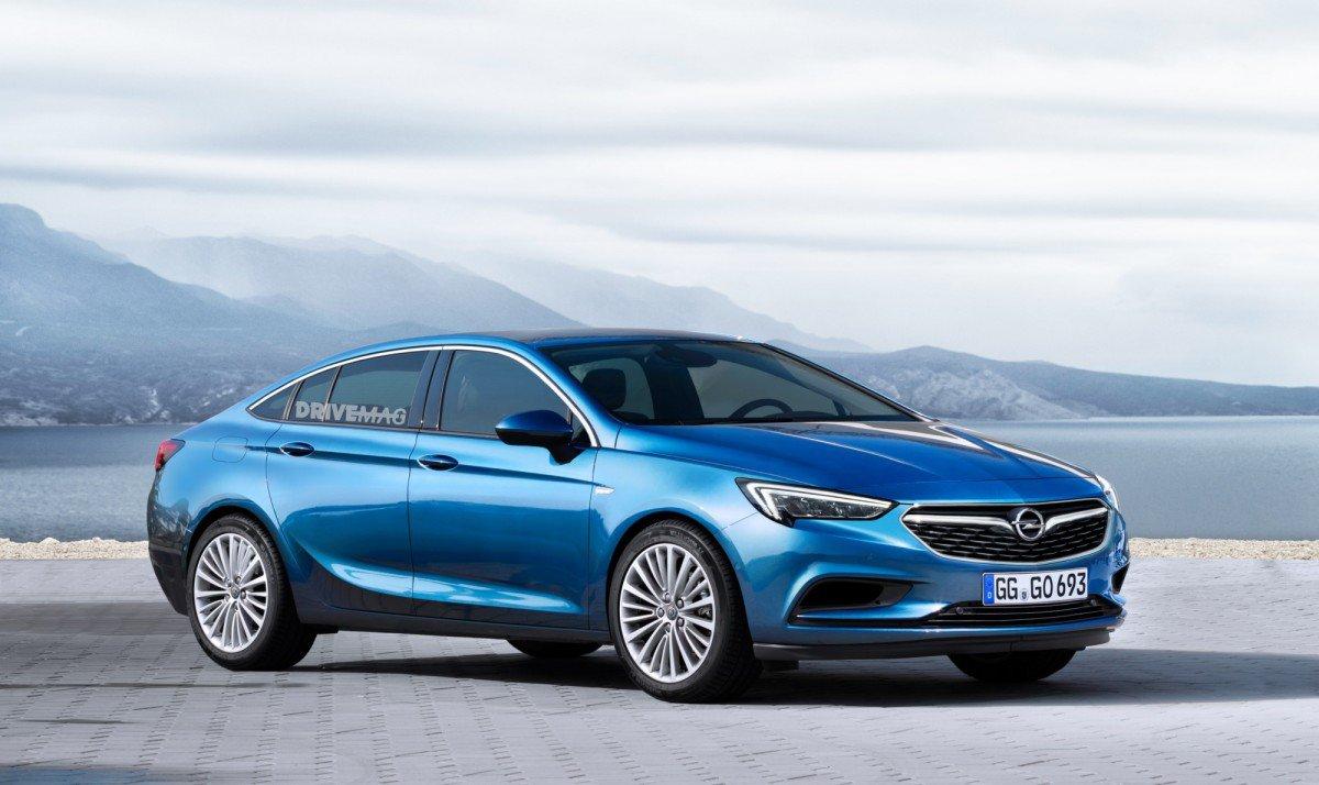 All-New 2017 Opel/Vauxhall Insignia Grand Sport Will Debut at Geneva...