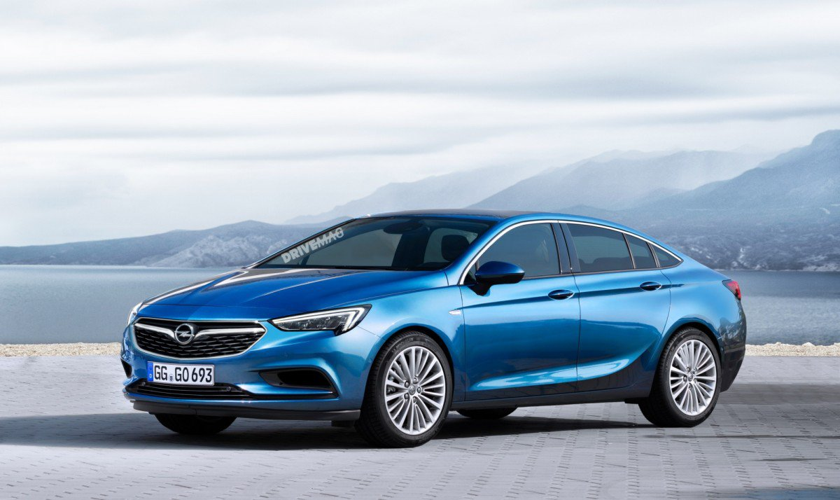 all new 2017 opel vauxhall insignia grand sport will debut at geneva. Black Bedroom Furniture Sets. Home Design Ideas