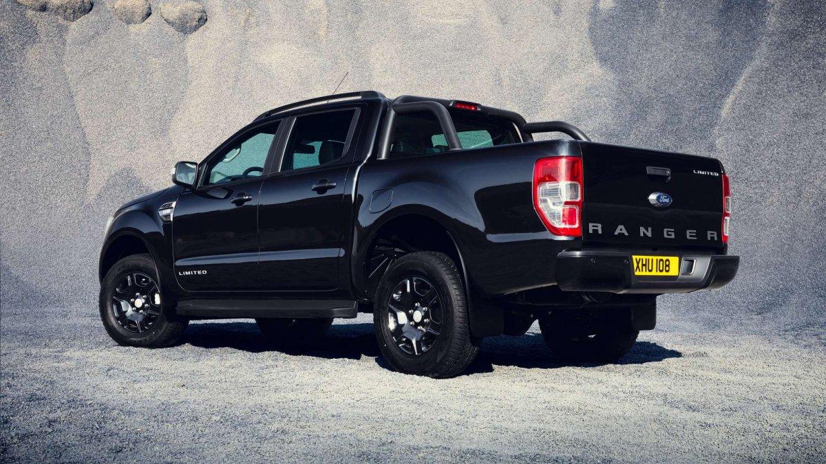 Ranger Black Edition Striking De Chromed Exterior Detaili Default Large Ford  Extras Included