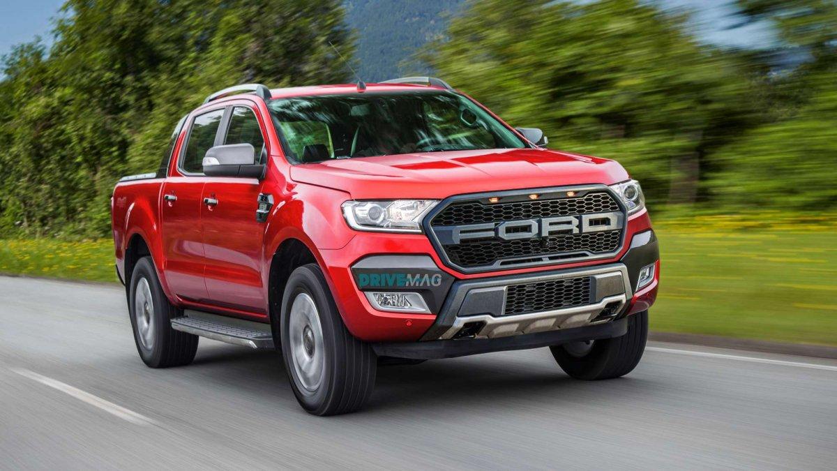 Ford ranger (Форд Рейнджер) 2018 года