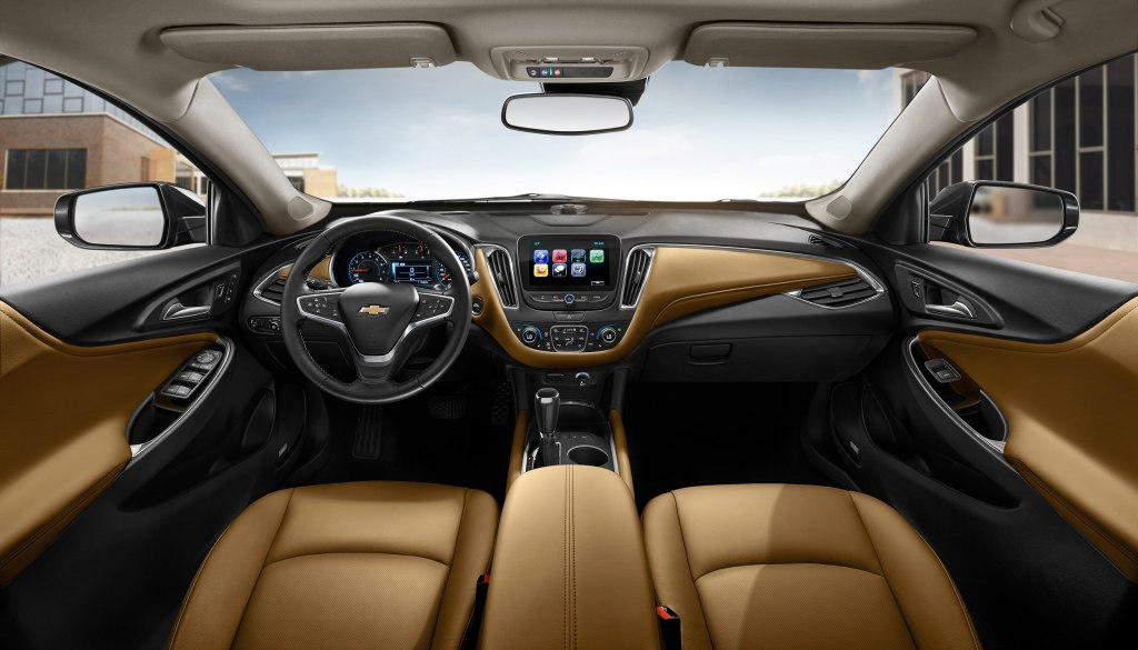 ... Chevrolet Malibu Sedan 4 Doors 2015 Model Interior  ...