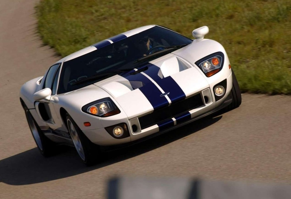 Ford Gt Coupe  Model Exterior