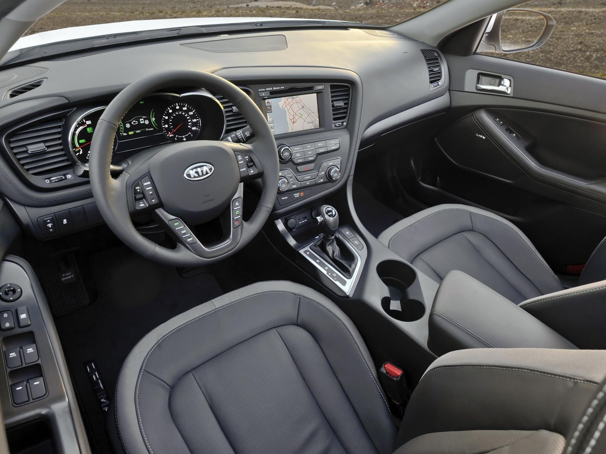 ... Kia Optima Sedan 4 Doors 2014 Model Interior  ...