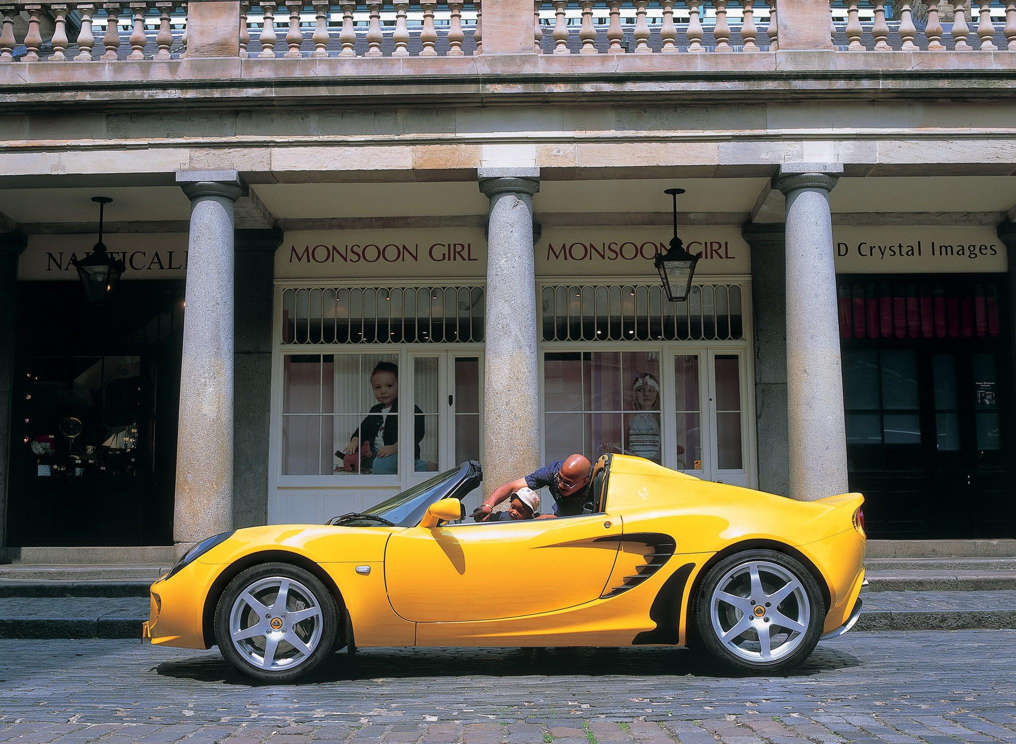 ... lotus-elise-targa-2-doors-2004-model-exterior- ... & LOTUS ELISE