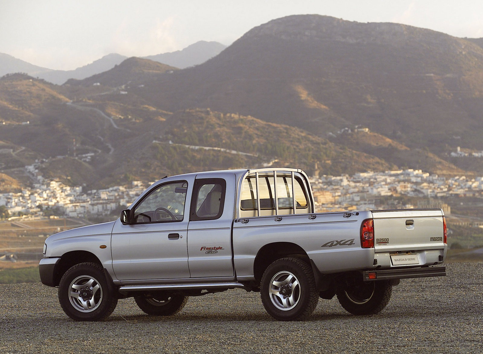 Mazda B Series 1998 B2500 Engine Pickup 2 Doors Model