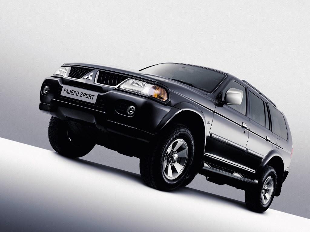 Mitsubishi Pajero Sport 2010 Service Manual Utility Vehicle 5 Doors