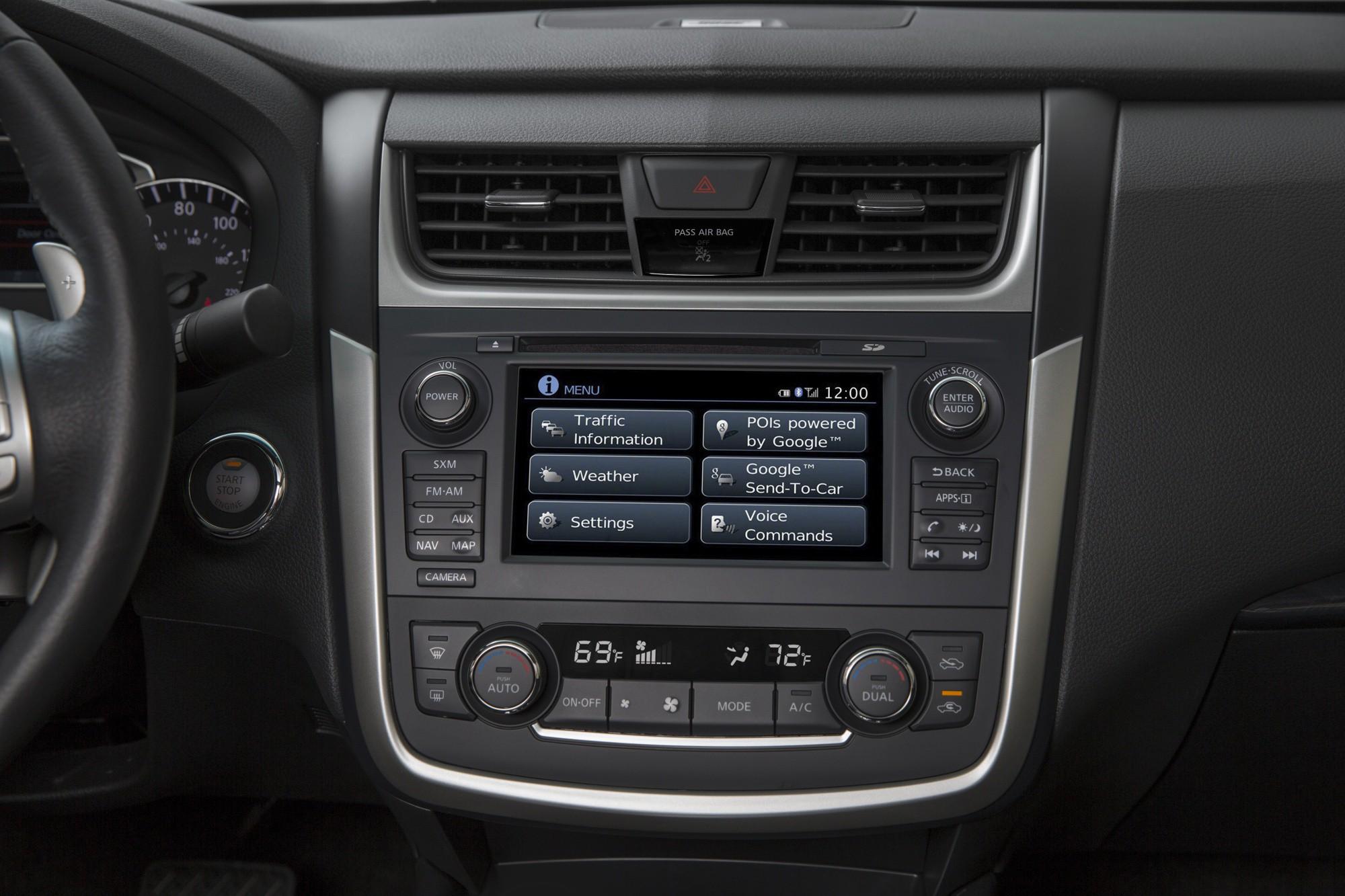 ... Nissan Altima Sedan 4 Doors 2015 Model Interior  ...