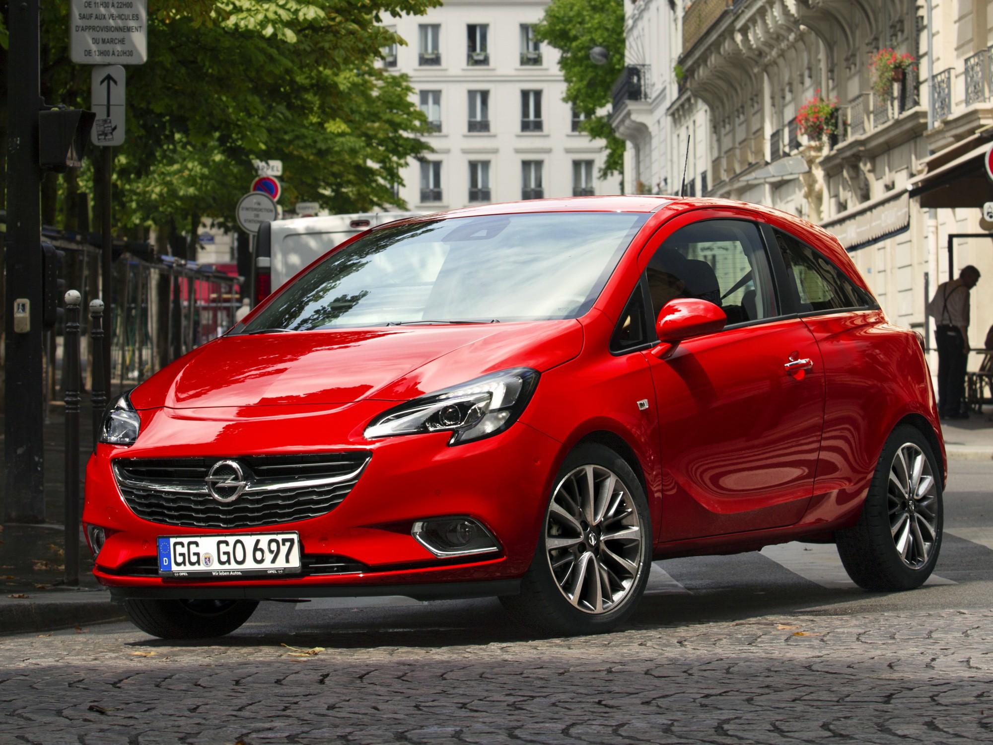 ... opel-corsa-hatchback-3-doors-2014-model-exterior- ...