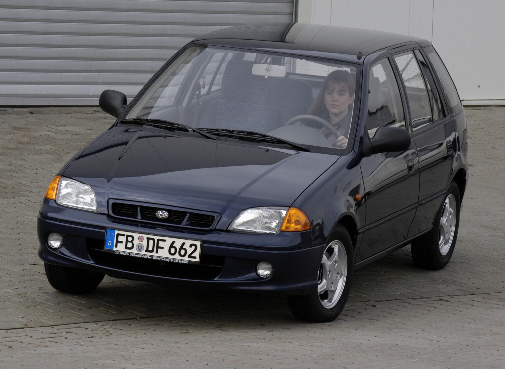 Subaru Justy 1992 Engine Hatchback 5 Doors 2000 Model Exterior