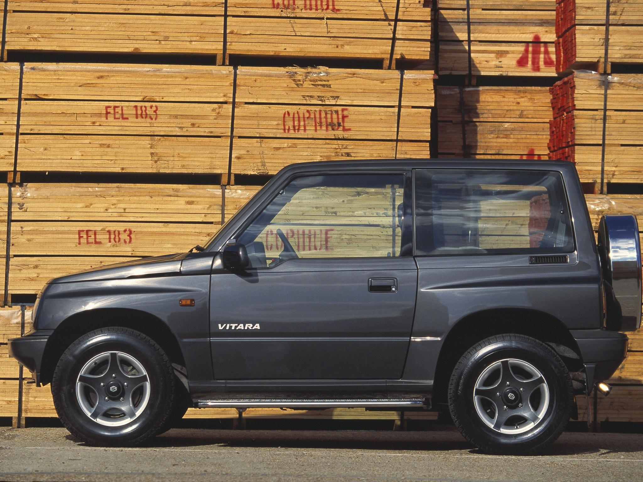 Suzuki Vitara Sport Utility Vehicle 3 Doors 1991