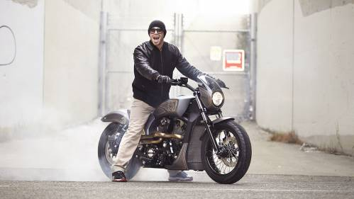 Victory Combustion Project. American muscle bike
