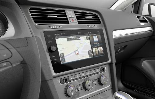 Volkswagen e-Golf Touch brings gesture control to mass production cars at CES 2016