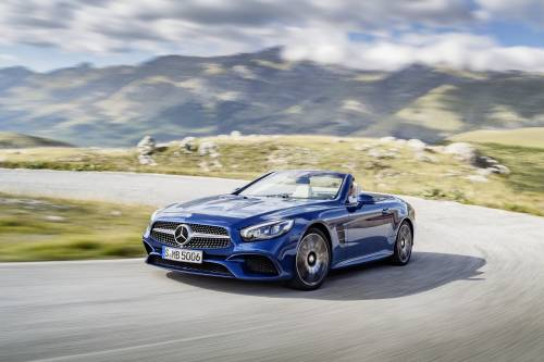2017 Mercedes-Benz SL Given New Face, More Powerful V6 Engine