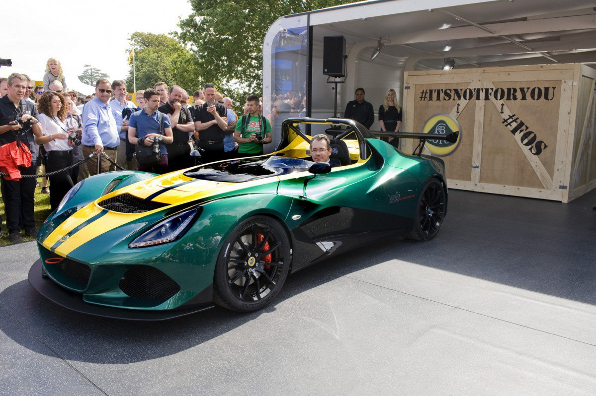 Lotus Unveils Its Fastest Road-Legal Car, the 3-Eleven