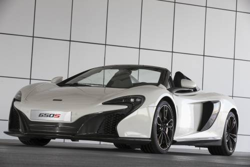 McLaren 650S Spider Al Sahara 79 Special Edition Is Exclusive To The Middle East