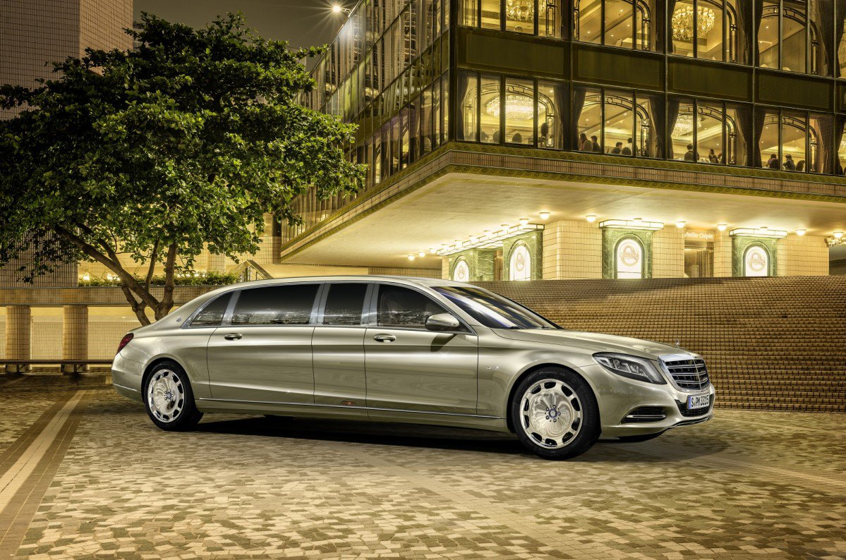Mercedes Maybach Unveils S 600 Pullman The Ultimate S Class