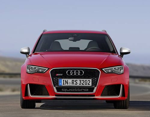 Is the Audi's RS3 Sedan Coming to the US?