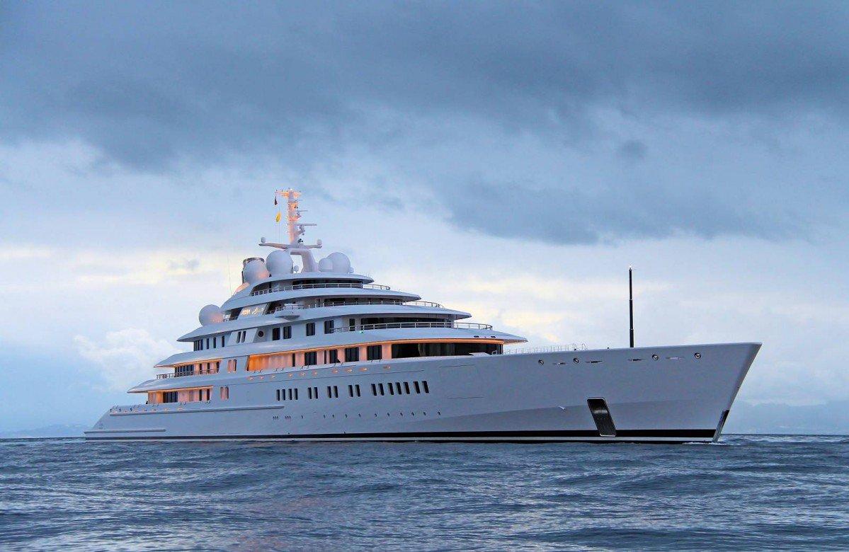 Top Ten Largest Yachts