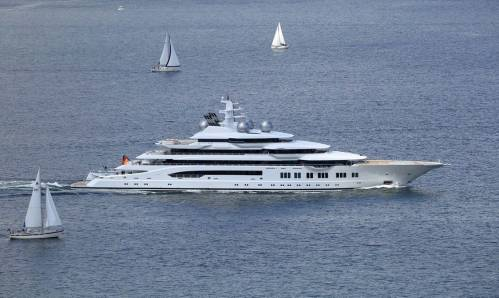 Lürssen's Project Mistral Heading Out on Sea Trials