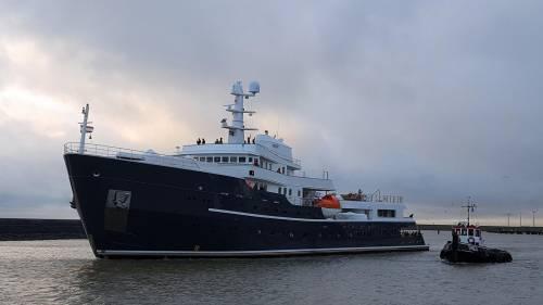 Icebreaking Explorer Yacht Legend Delivered After Refit