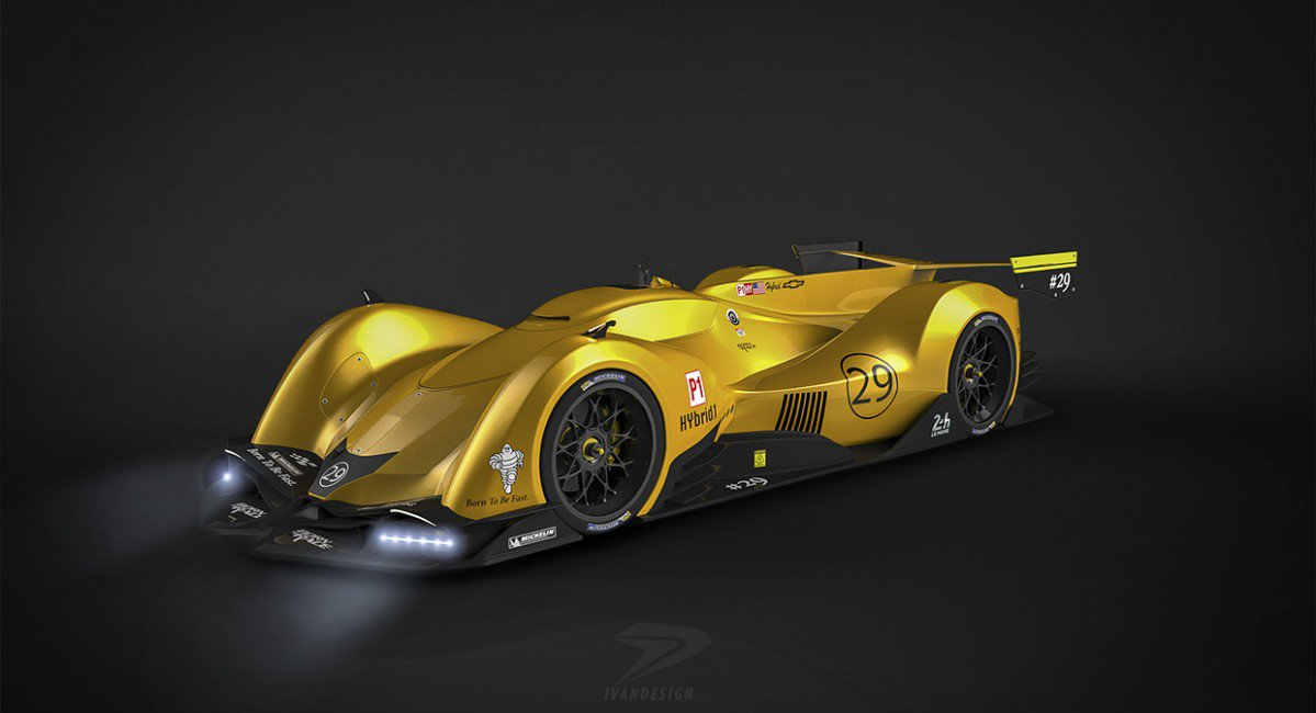 Pictures Of Corvettes >> Chevrolet Camaro LMP1 is a Baffling Diesel-Electric Hybrid ...