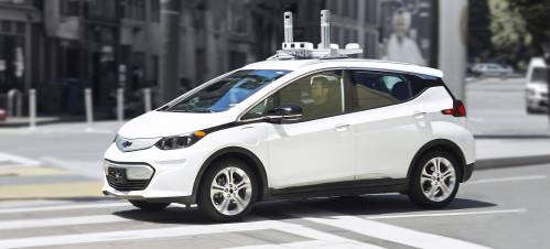 The Self-driving Chevrolet Bolt Is Coming Your Way
