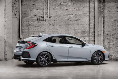 Honda Reveals US-bound 2017 Civic Hatchback with Turbo Power and Optional Manual 'Box