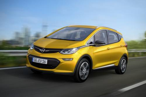 Opel Ampera-e Electric Vehicle Will Debut at the Paris Motor Show