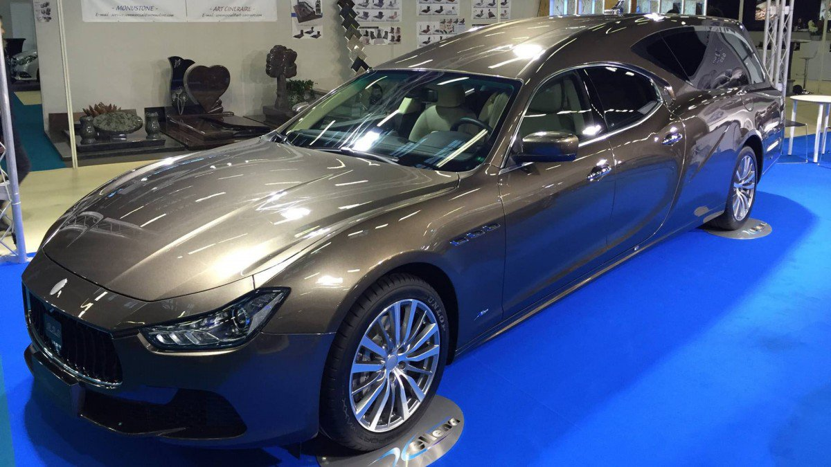 Maserati Ghibli Transformed Into a Hearse? Now You Can Go Out in Styl...