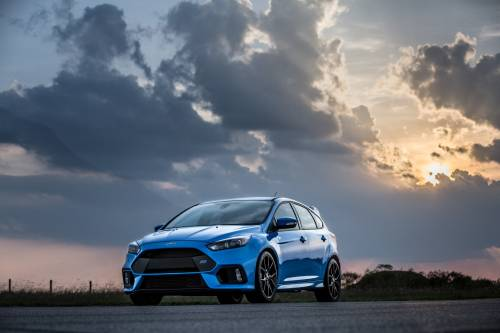 A 400-Horsepower Ford Focus RS is Already On the Loose, Courtesy of Hennessey