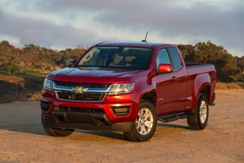 2017 Chevrolet Colorado Gets All-New 3.6L V6, 8-Speed Auto