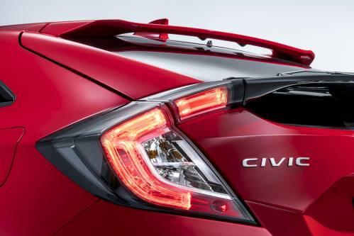 Euro-Spec 2017 Honda Civic Hatchback Teased Before Paris 2016 Debut