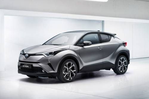 Toyota Wants to Sell Between 50,000 and 100,000 C-HR Hybrids in Europe
