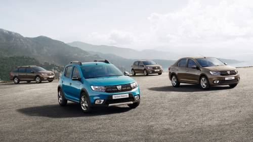Dacia Reveals Facelifted Logan, Logan MCV, Sandero and Sandero Stepway