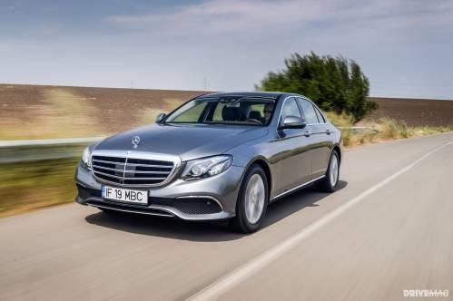 2017 Mercedes-Benz E 220 d Test Drive: It Puts the E in Executive Sedan