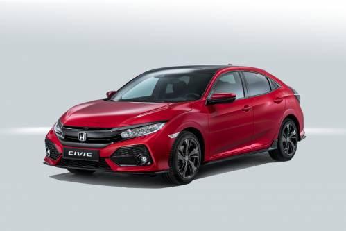 Paris 2016: Honda Details All-New Civic Ahead of Motor Show Debut