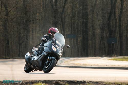 2016 BMW C650 Sport Review