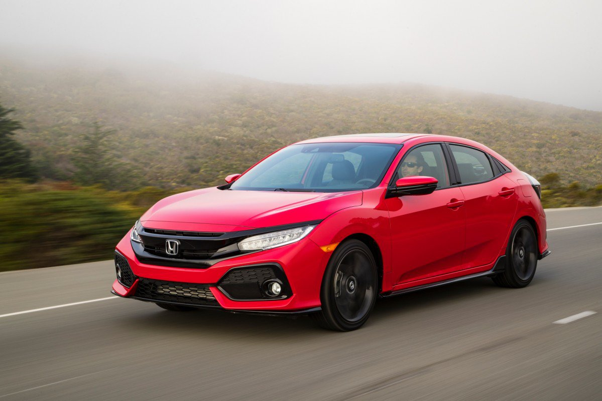 2017 Honda Civic Hatchback Priced From 19700 In The US