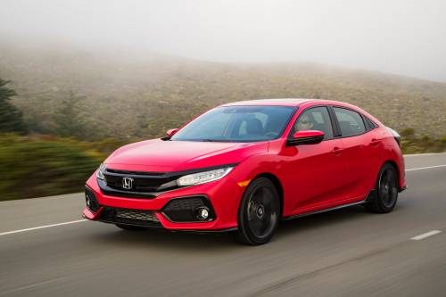 2017 Honda Civic Hatchback Priced from $19,700 in the U.S.