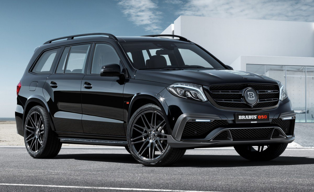 Brabus 850 Xl Is A Mercedes Amg Gls 63 On Steroids