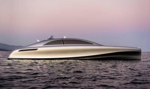 Mercedes-Benz Showcases The Spectacular Arrow 460 Granturismo Powerboat Again