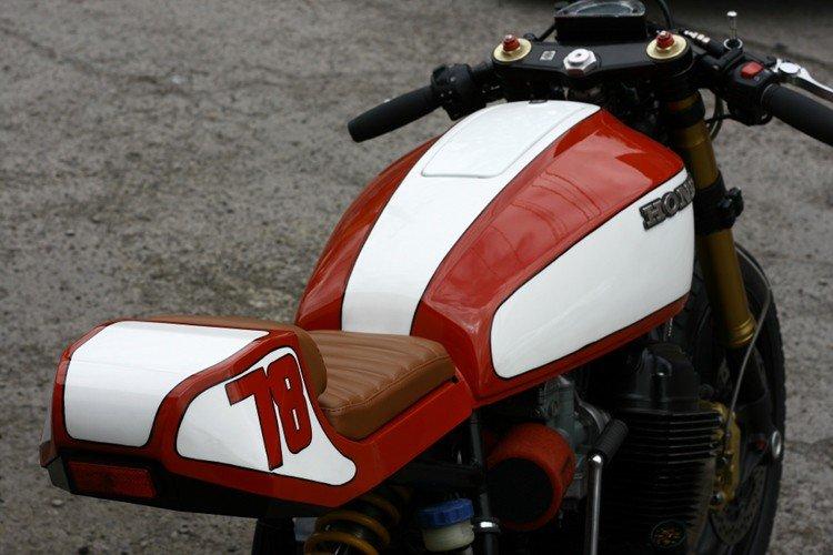 Honda CB750 1978 Custom By Andrew Wales