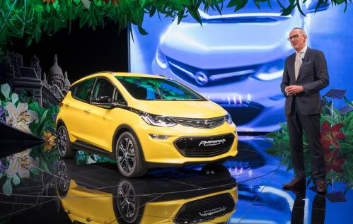 Opel Ampera-e Has NEDC-Rated Driving Range of 500 Km, 380 Km in Real-World Conditions