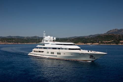 Feast Your Eyes With Lürssen's Classic Superyacht Coral Ocean