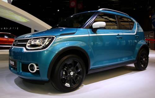 Suzuki's All-New 2017 Ignis Small Crossover Arrives in Europe