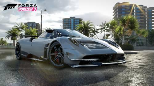 Forza Horizon 3 Welcomes Aston Martin Vulcan, GTA Spano, Pagani Huayra BC Tire-Burning Trio