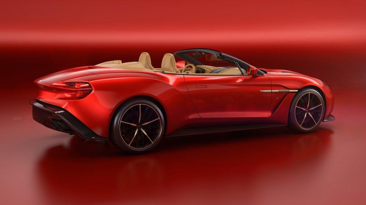 Aston Martin Vanquish Zagato Volante Said To Come With A Bewildering - Aston martin vanquish cost