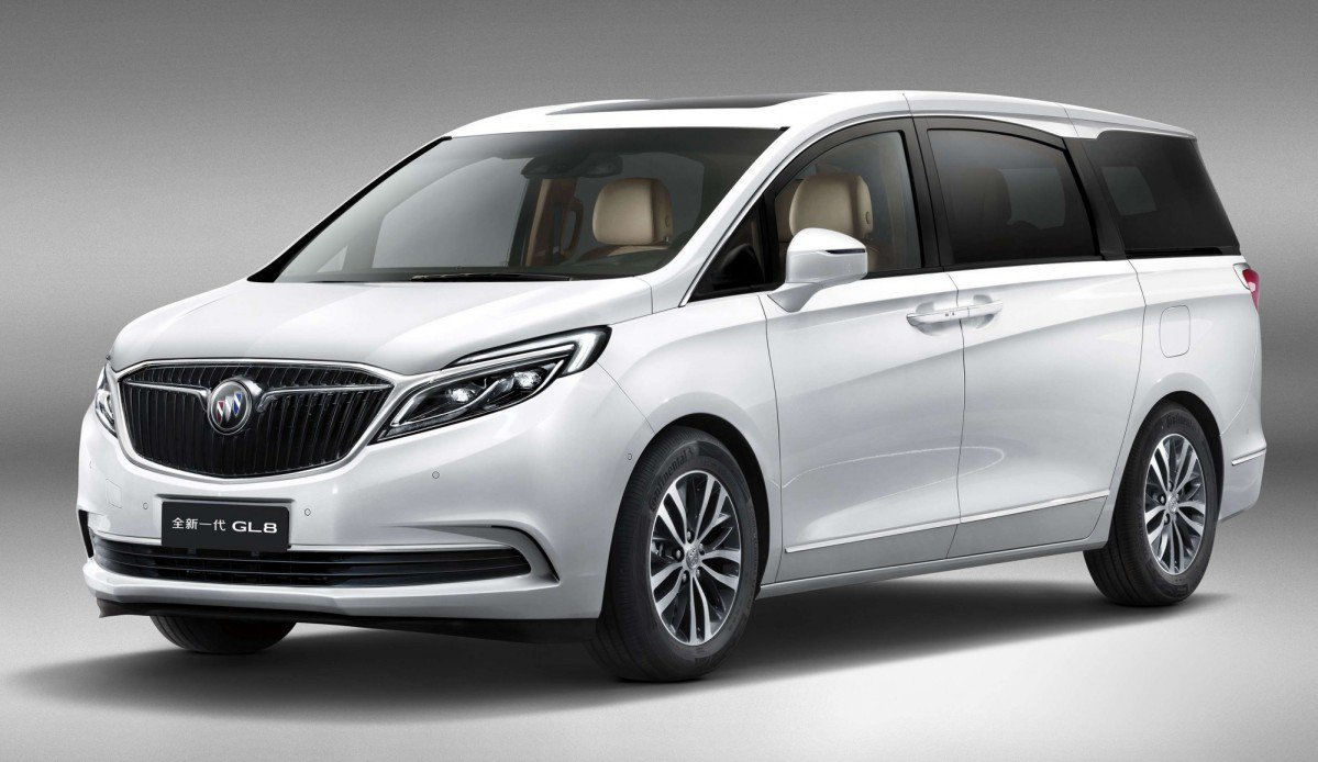 Buick Previews All New 2017 Gl8 Luxury Minivan For China